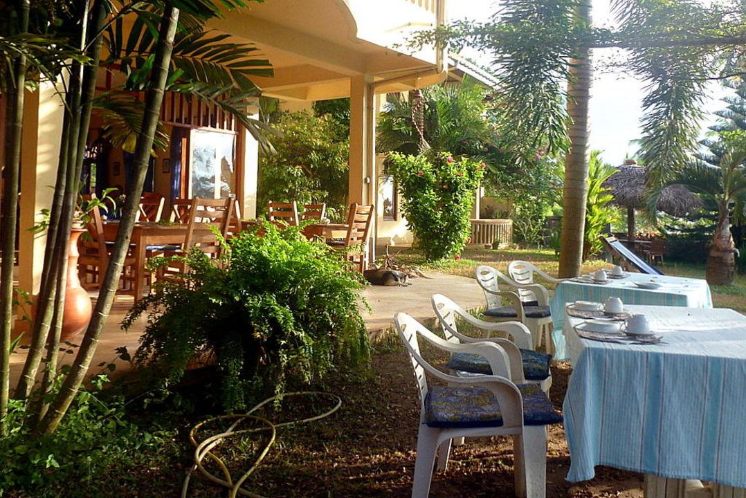 Frühstücksplätze Villa Lucky Star