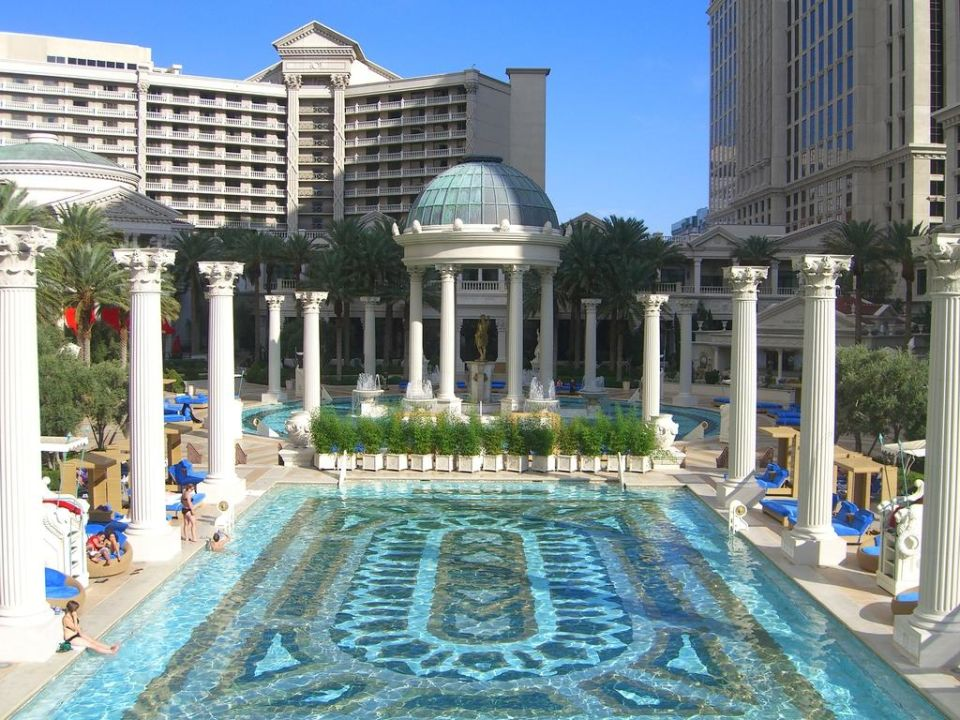 Quot Super Poollandschaft Quot Hotel Caesars Palace In Las Vegas Holidaycheck Nevada Usa