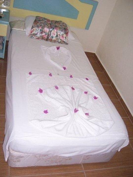 Serce z ręcznika  Hotel Bezay