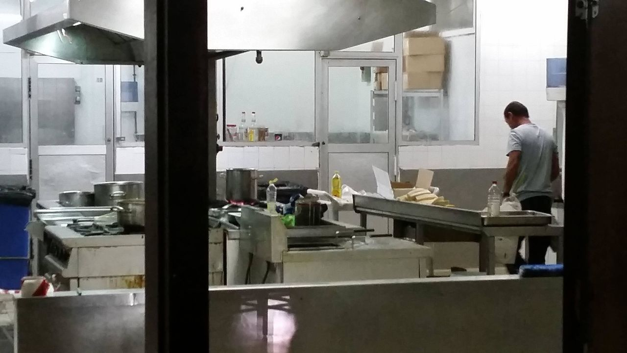 4 Sterne Restaurant Küche im Dreck Zustand \