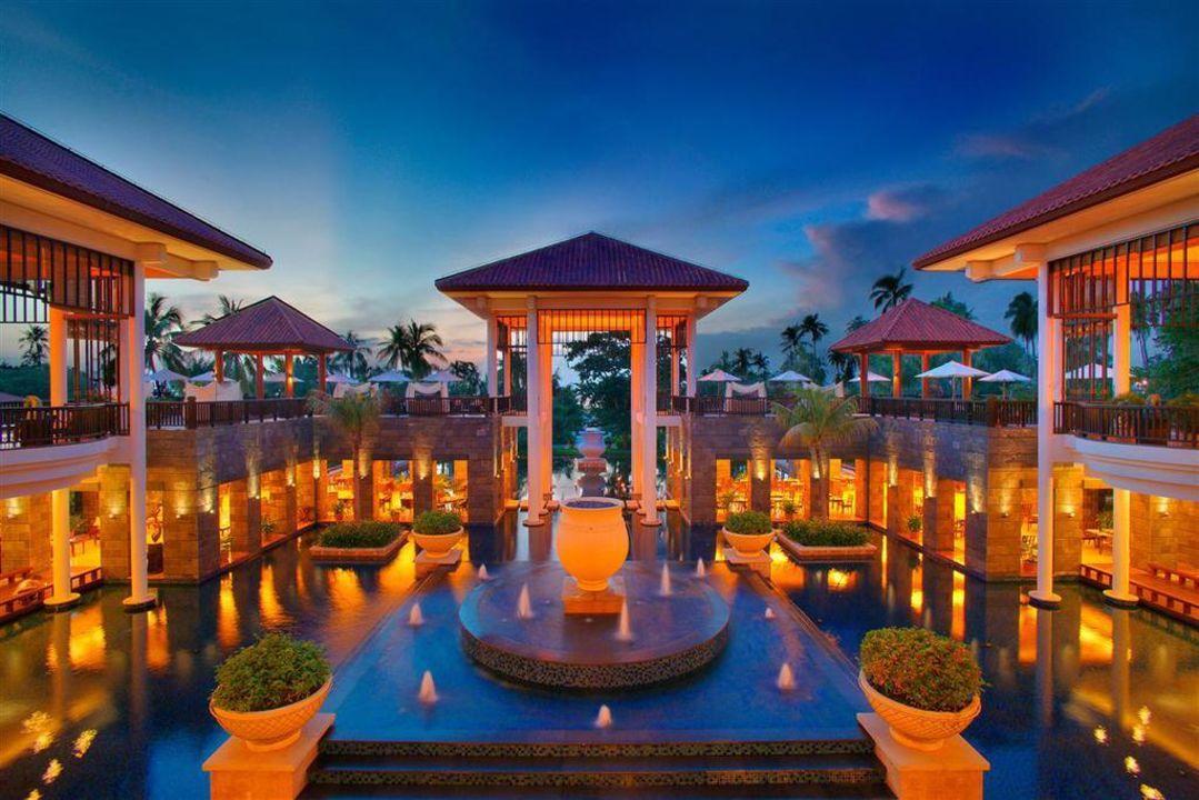 Lobby Hotel Banyan Tree Sanya