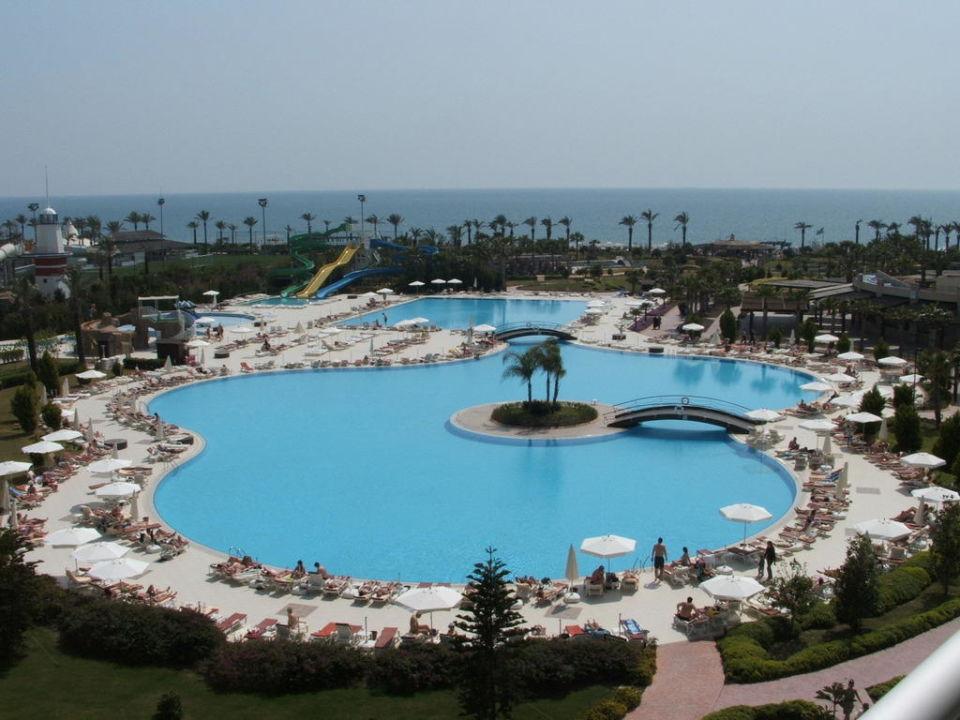 Blick von unserem Balkon Hotel Miracle Resort