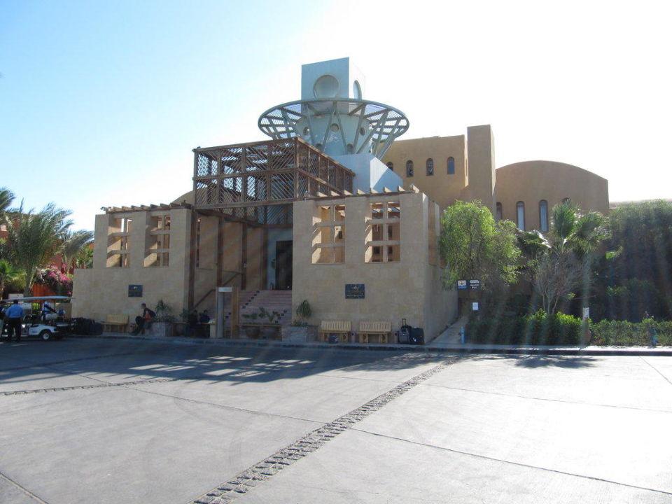 Eingang zur Rezeption Steigenberger Golf Resort El Gouna
