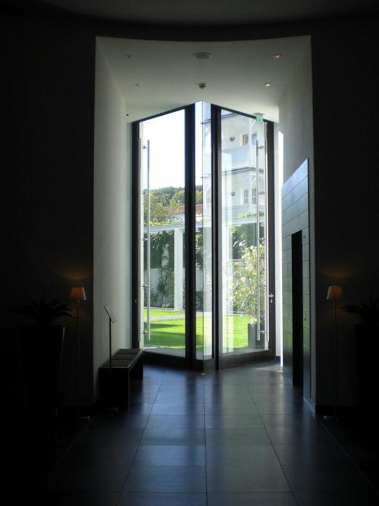 t r zum garten hotel ceres am meer binz auf r gen. Black Bedroom Furniture Sets. Home Design Ideas