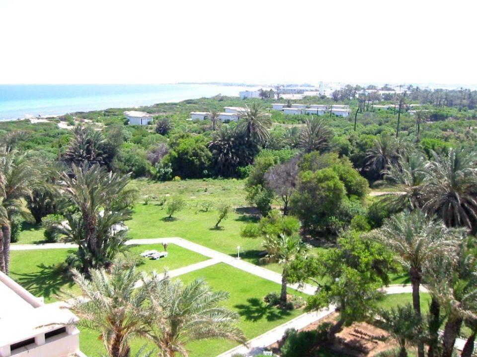 Ausblick vom Balkon SunConnect One Resort Monastir