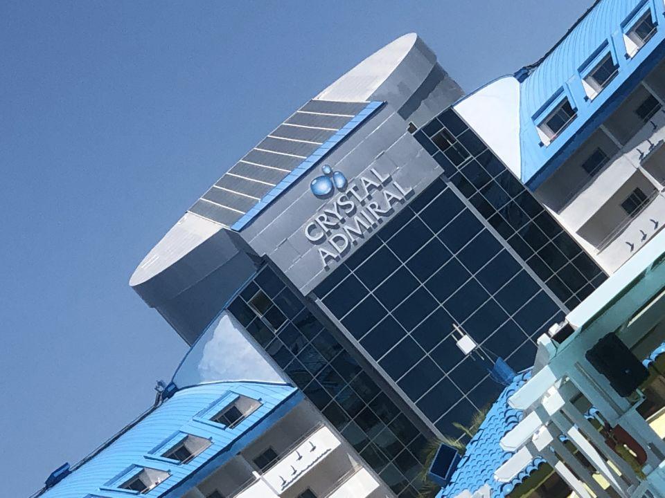 Außenansicht Crystal Admiral Resort Suites & Spa