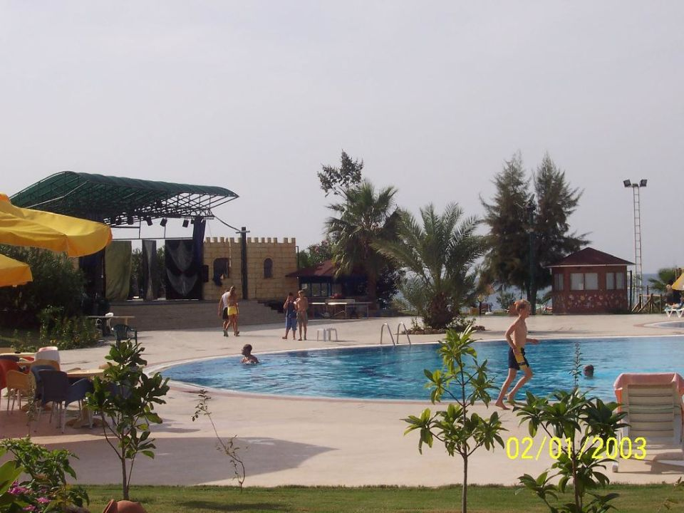 Pool Justiniano Club Park Conti