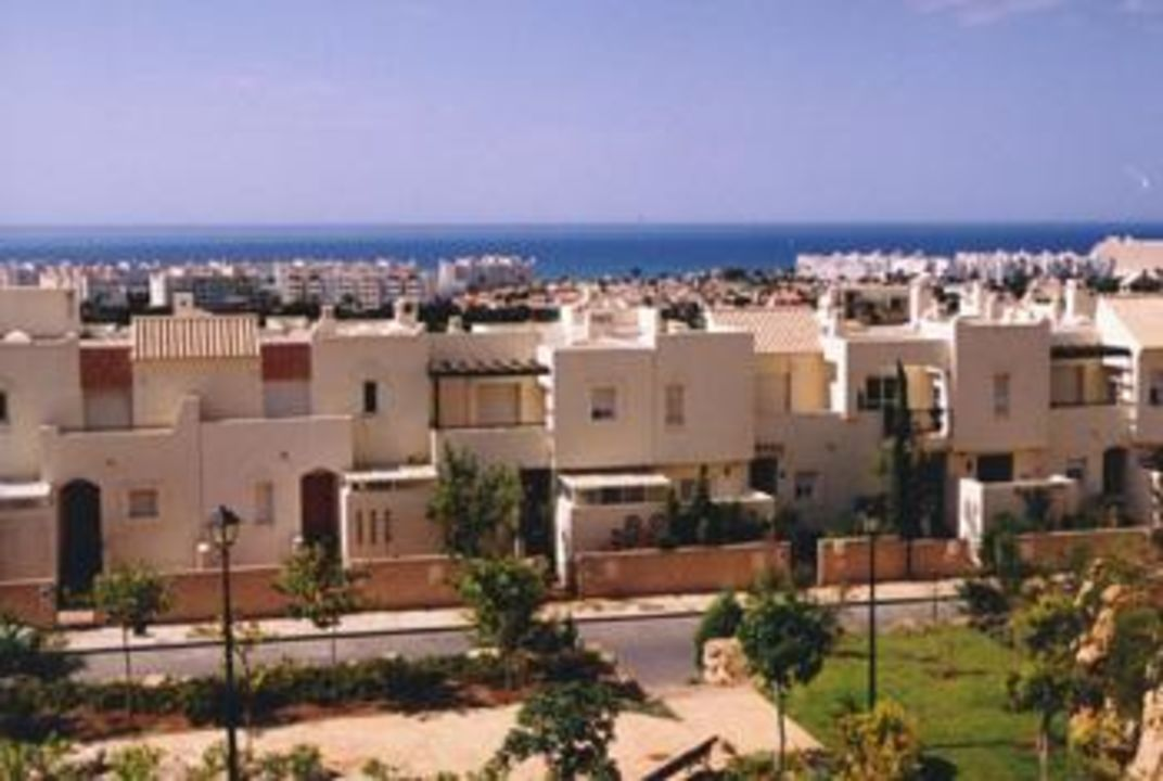 """View from the urbanization """" Ladera del Golf"""" Ladera del Golf Apartments"""