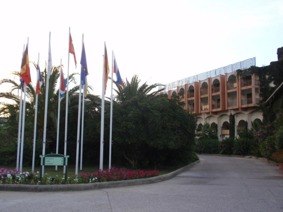 Eingangsbereich Paloma Oceana Resort