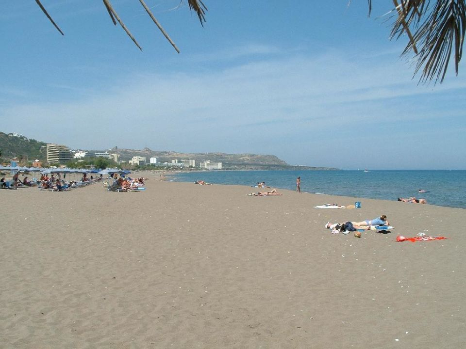 Strandbereich Hotel Faliraki Bay