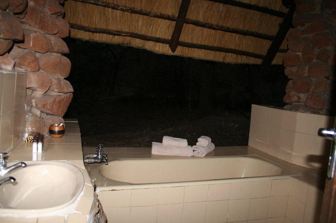 Badezimmer Mit Blick In Die Natur Hotel Mkhaya Game Reserve