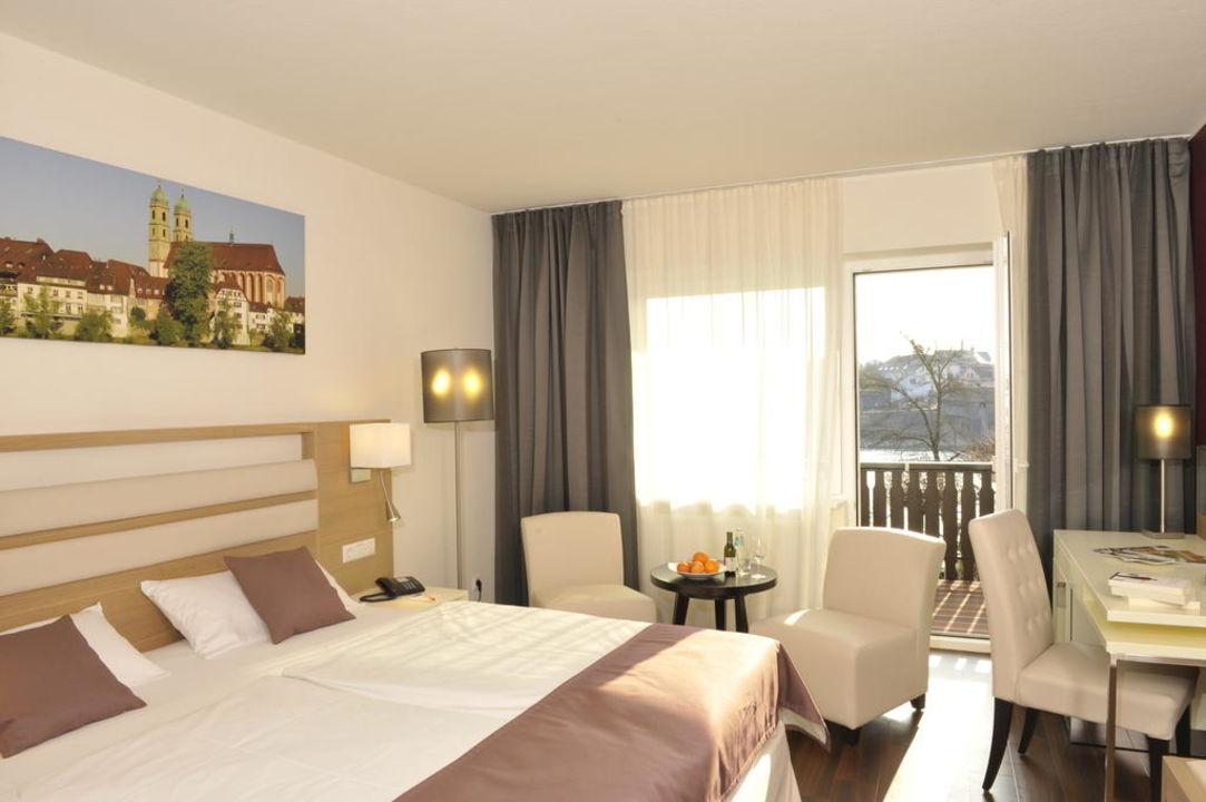 Doppelzimmer mit Balkon Ringhotel Goldener Knopf