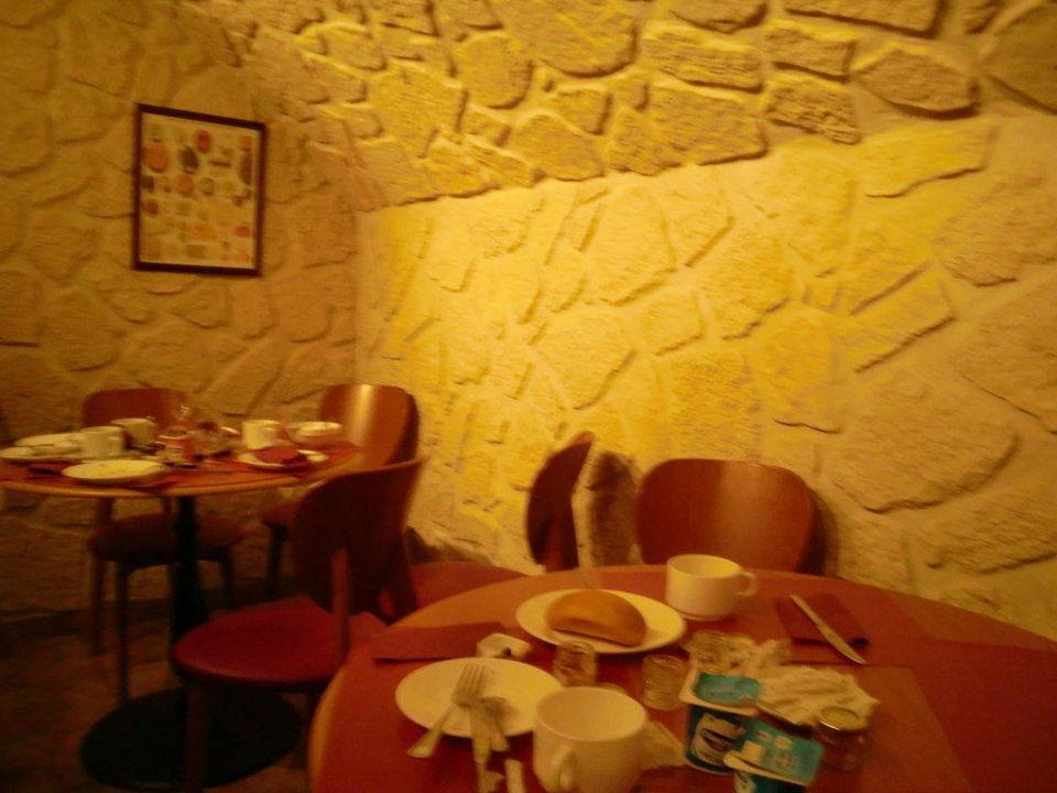 Frühstücksraum im Keller Hotel Pavillion Louvre Rivoli