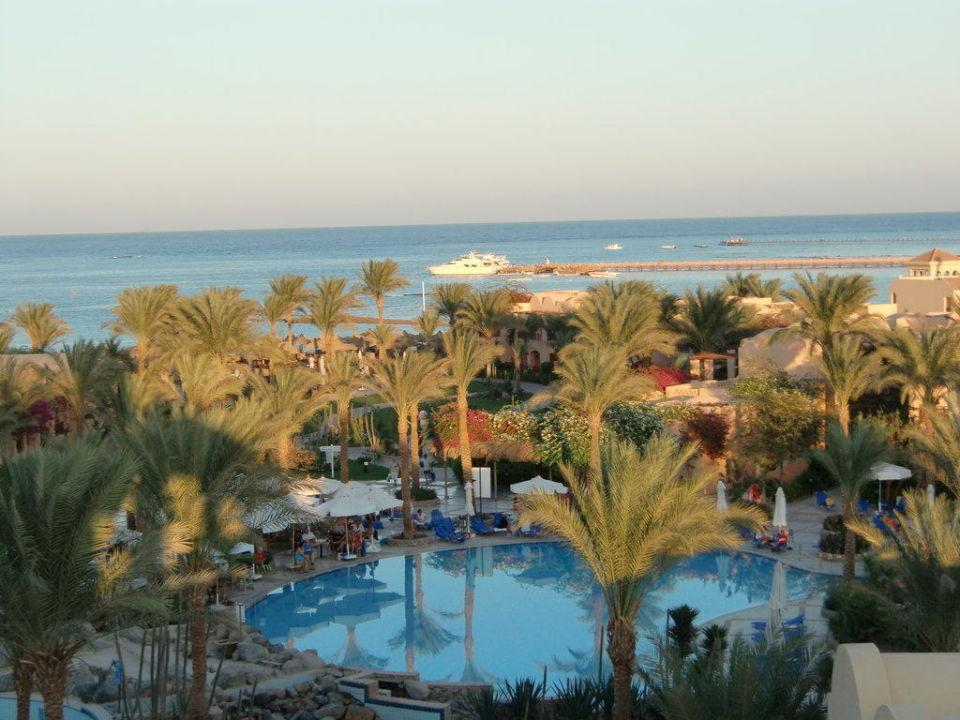 Pool von Oben Hotel Iberotel Makadi Beach
