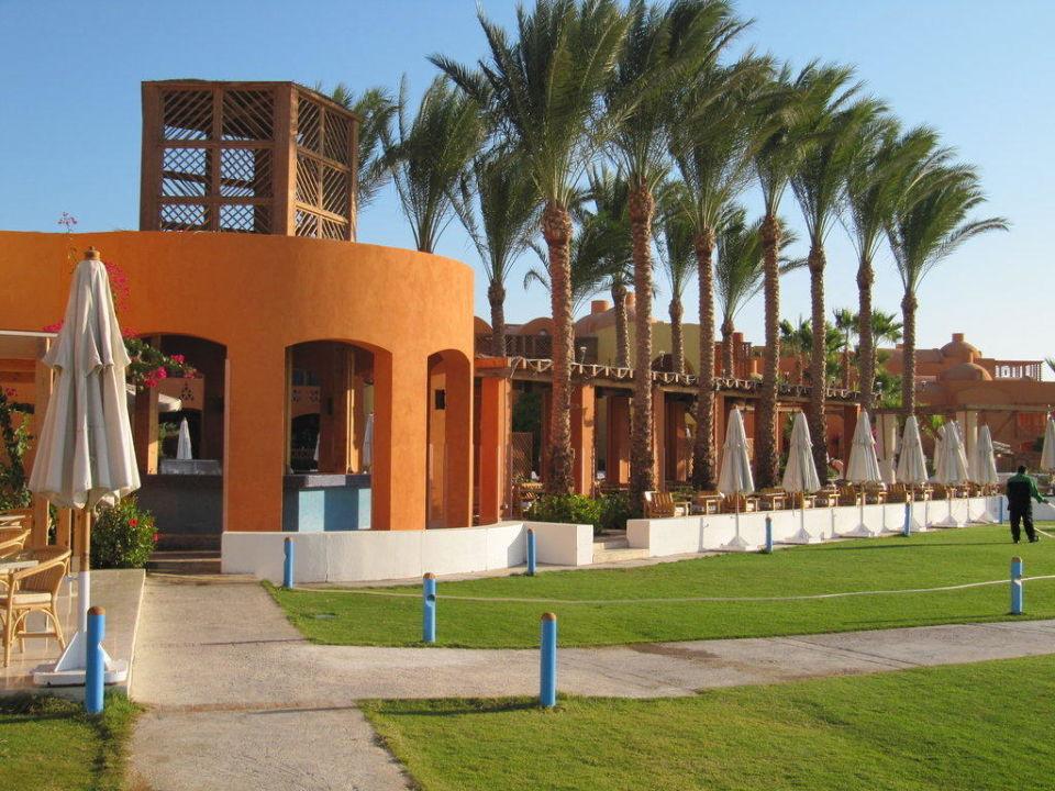 Poolbar zur Lagunenseite Steigenberger Golf Resort El Gouna