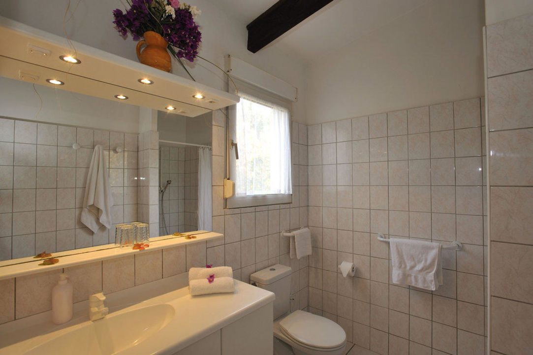 Badezimmer Hotel Maristella\