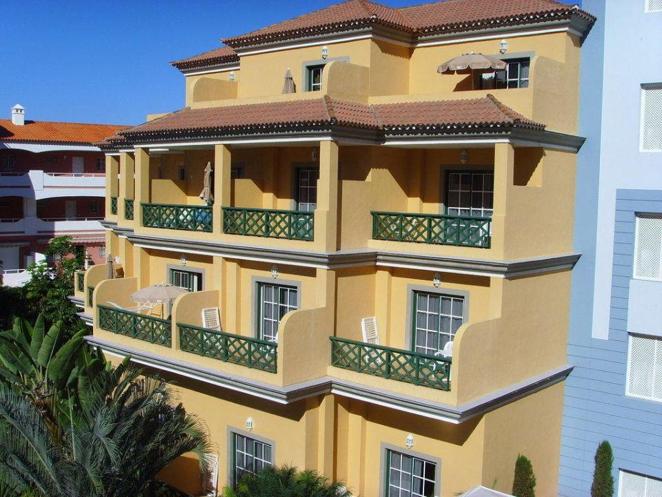 Aufnahme vom Balkon Hotel Riu Garoe