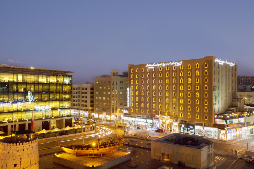 Außenansicht Arabian Courtyard Hotel & Spa
