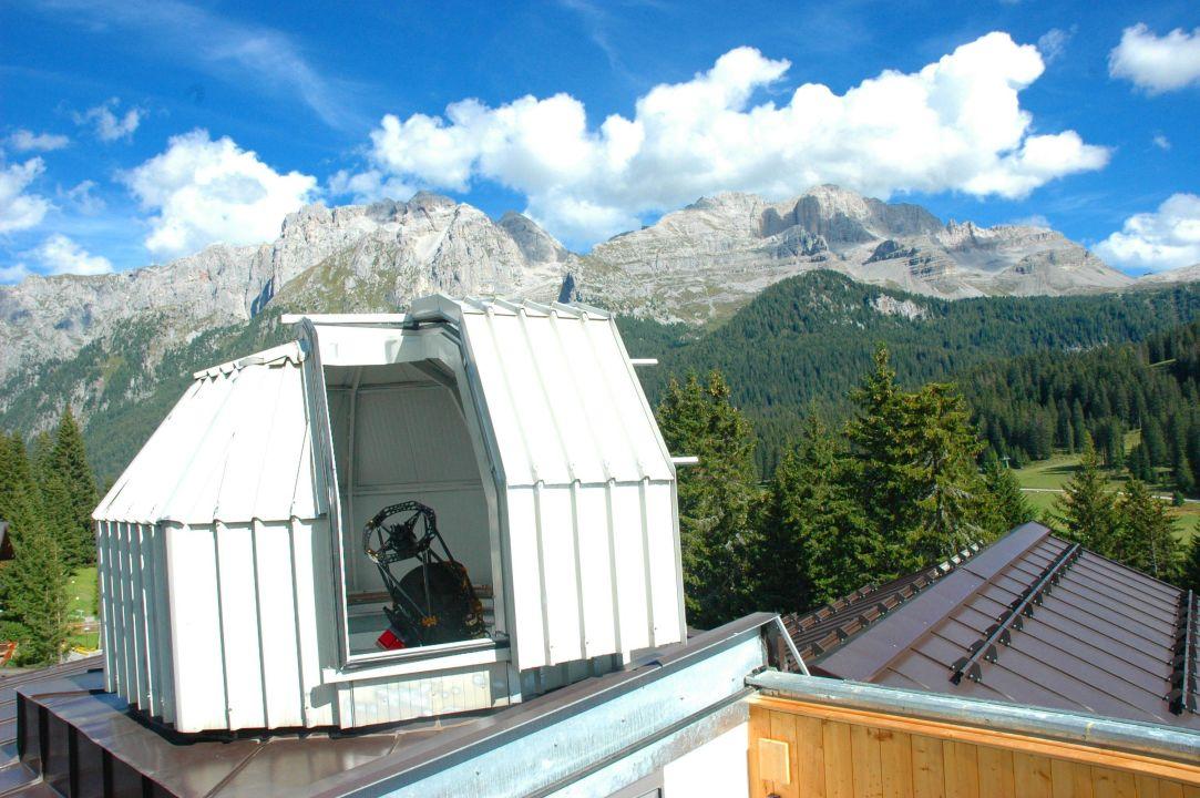 L'Osservatorio Astronomico dell'hotel Hotel Carlo Magno Zeledria