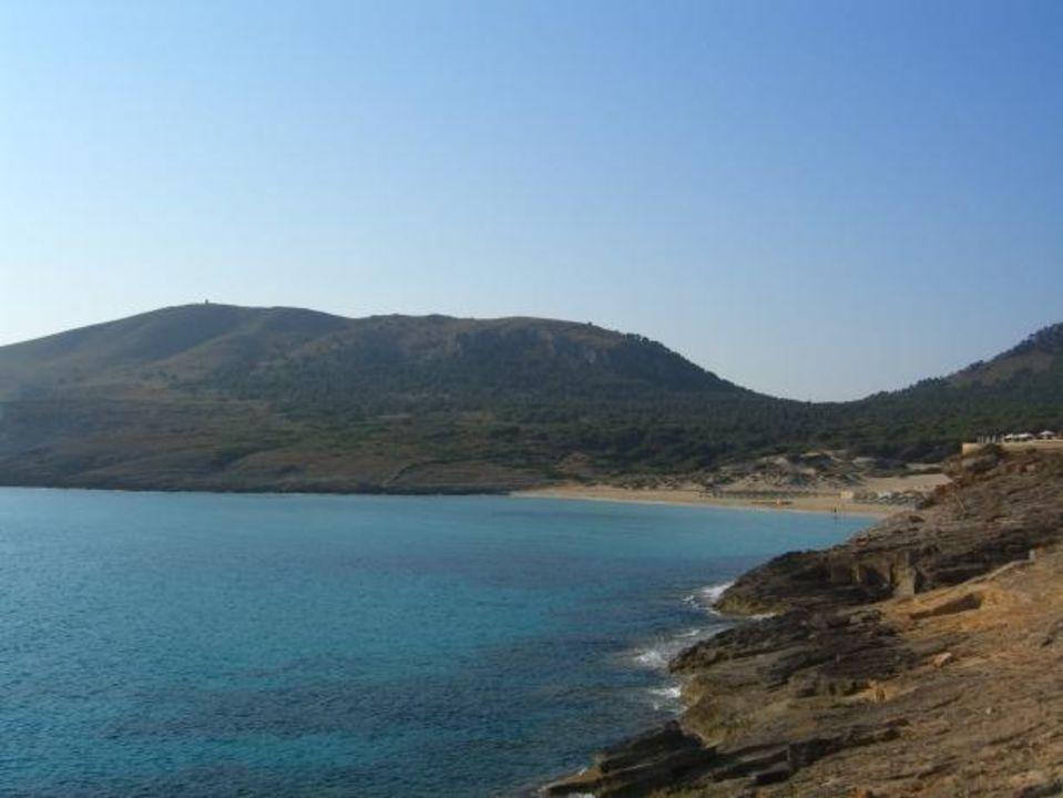 Blick aus Richtung Cala Torta Vanity Suite & Spa