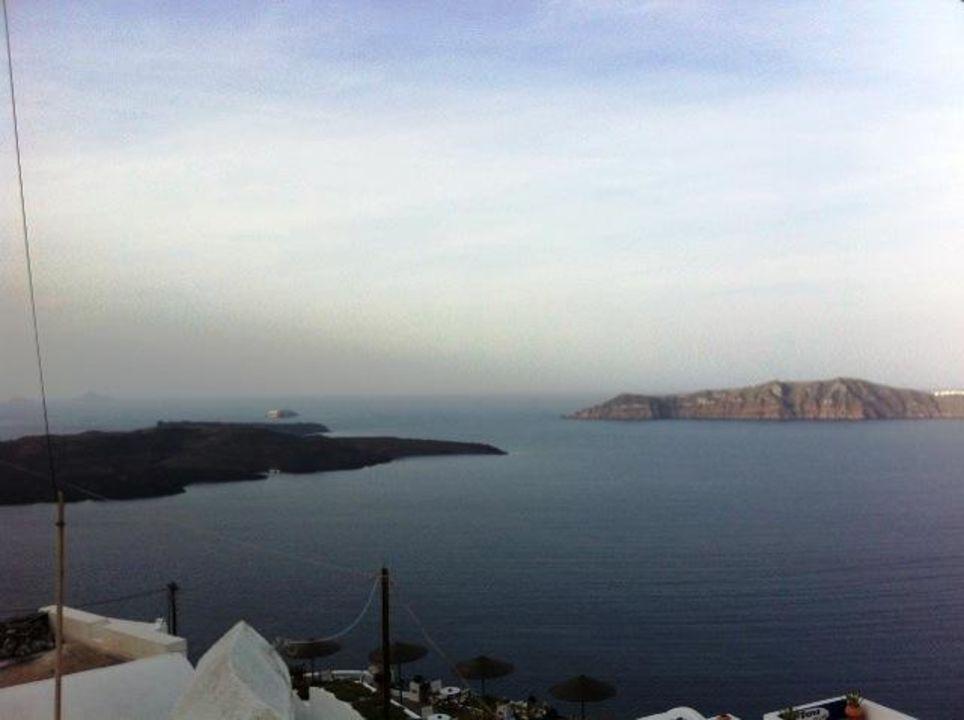 Blick auf den Vulkan Mirabo Villa