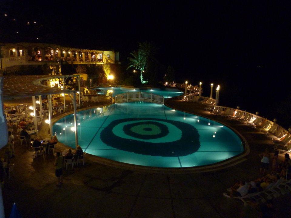 Main pool at night LABRANDA Ephesus Princess