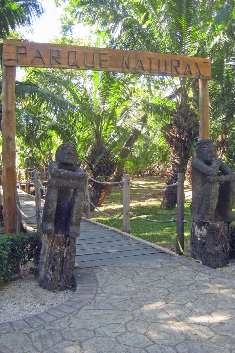 Eingang zum Naturpark Barceló Tambor