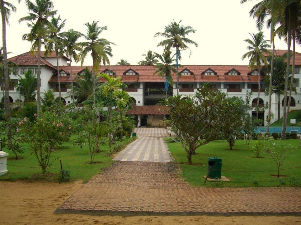 Frontansicht Hotel Hotel Estuary Island