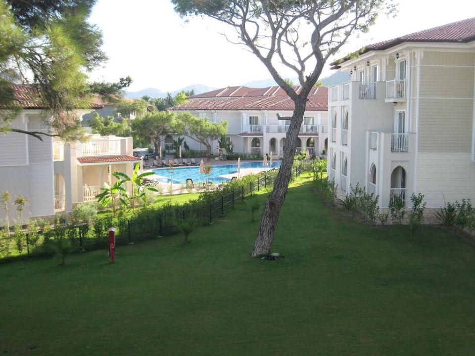 Ausblick vom Familienzimmer Hotel Güral Premier Tekirova