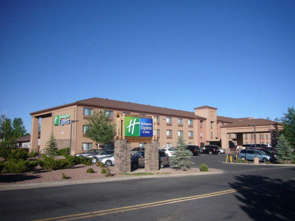 Anssicht von der Straße Hotel Holiday Inn Express Grand Canyon
