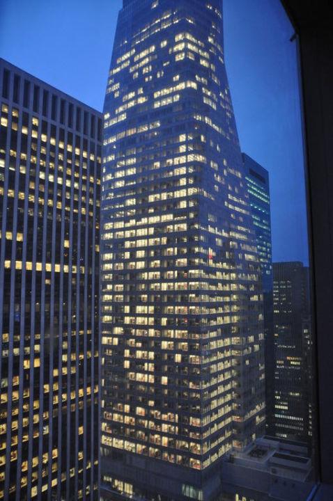 Aussicht aus der 42 Etage Millennium Broadway Square New York