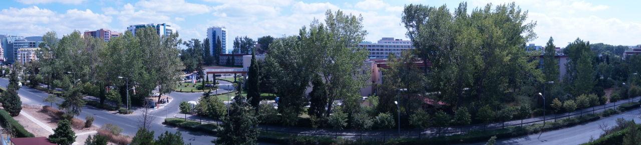 View from а balcony Hotel Flamingo
