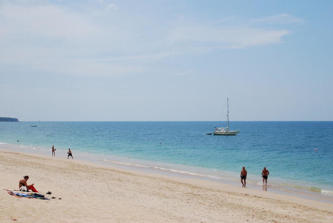 März-Idylle am Long Beach Hotel Lanta Sand Resort & Spa