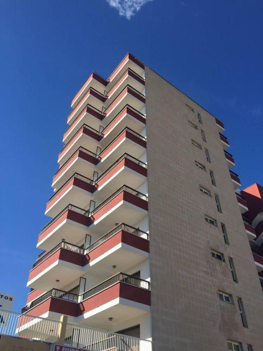 Von außen Apartments Sol y Vera