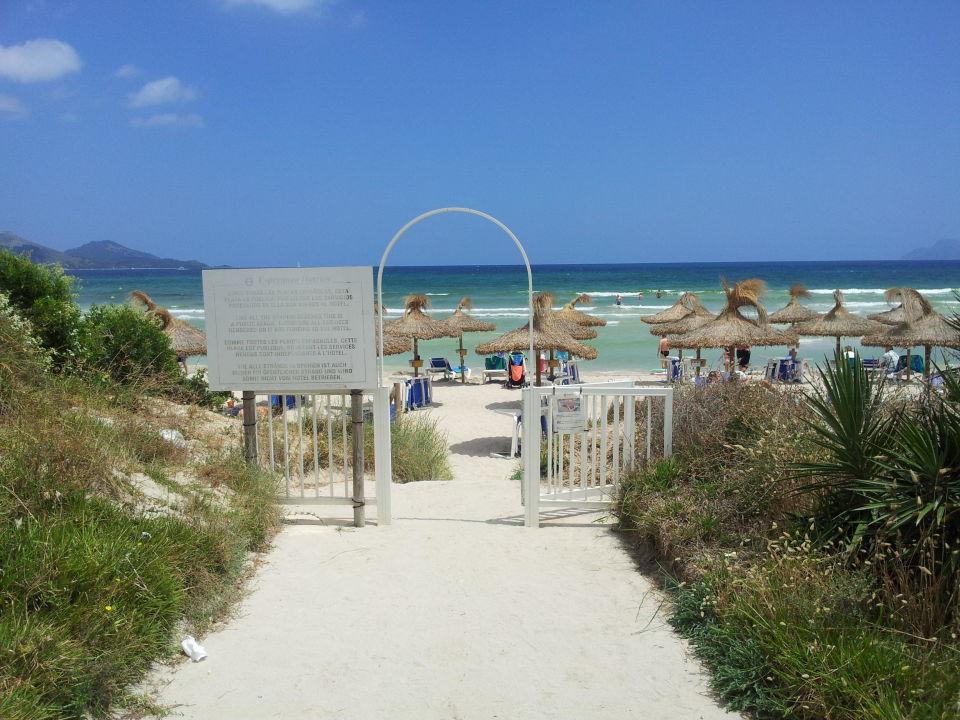 Direkt vor der Tür Playa Esperanza Suites