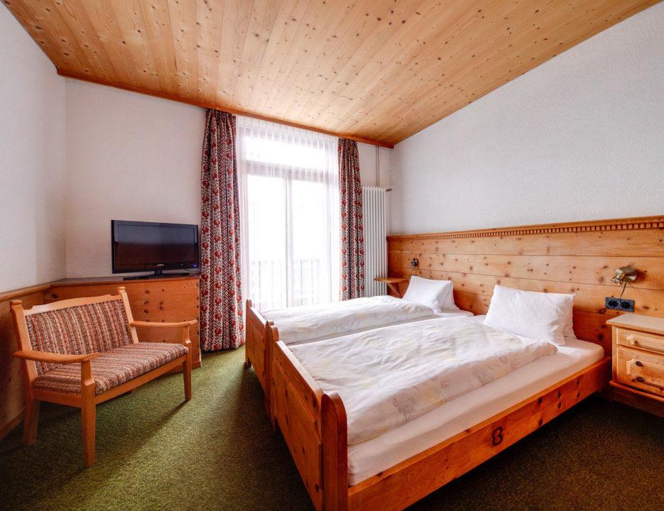 Kleines Doppelzimmer Hotel Parsenn