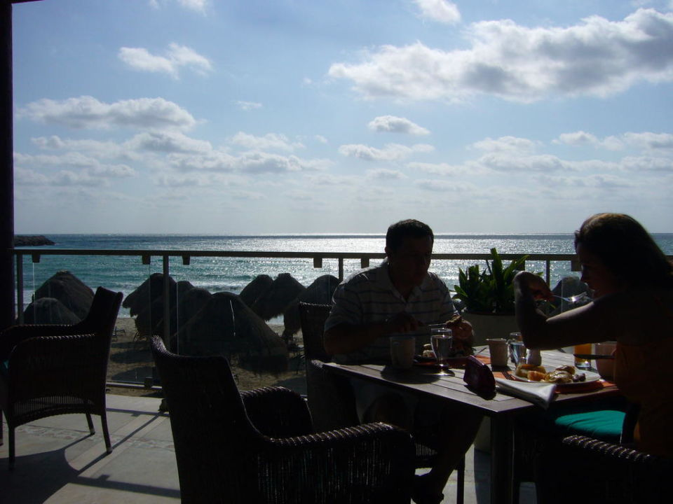 Frühstück mit Aussicht Now Jade Riviera Cancun