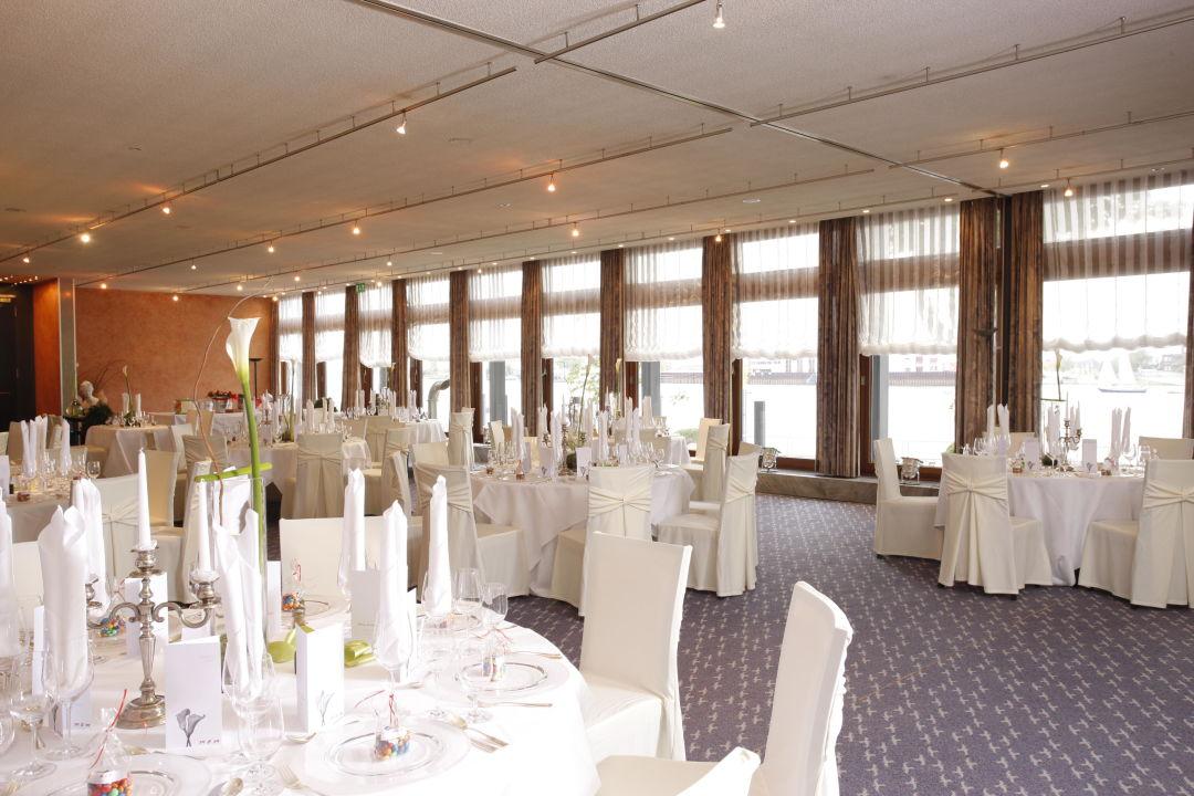 Die Veranda Zu Einer Hochzeit Hotel Strandlust Vegesack Bremen