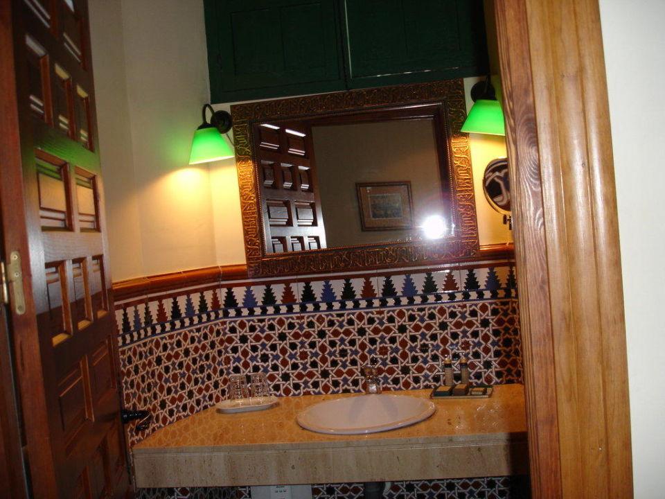 Badezimmer Mit Maurischen Fliesen Hotel Palacio De Los Granados - Fliesen maurisch