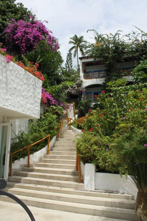 Treppen The Imperial Samui (Vorgänger-Hotel – existiert nicht mehr)
