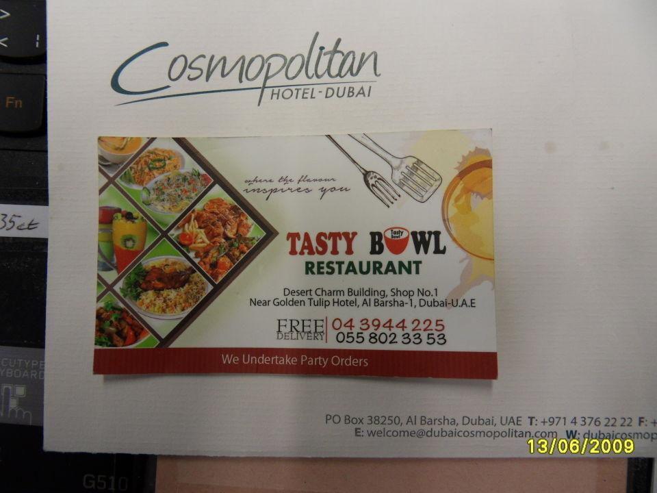Gastro Cosmopolitan Hotel Dubai