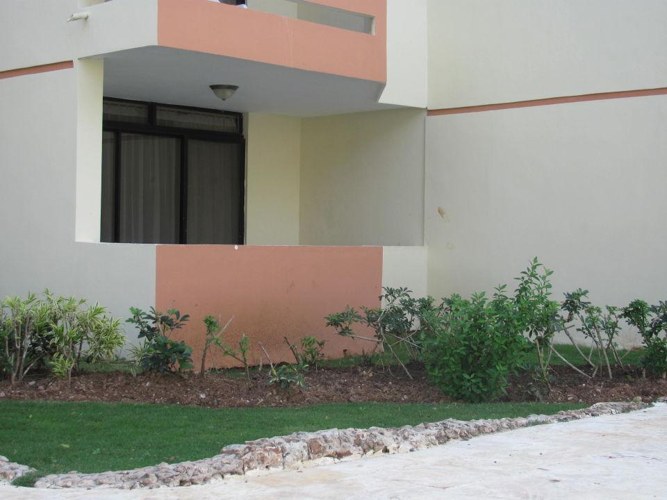 bild s ulen aschenbecher zu hotel viva wyndham dominicus. Black Bedroom Furniture Sets. Home Design Ideas