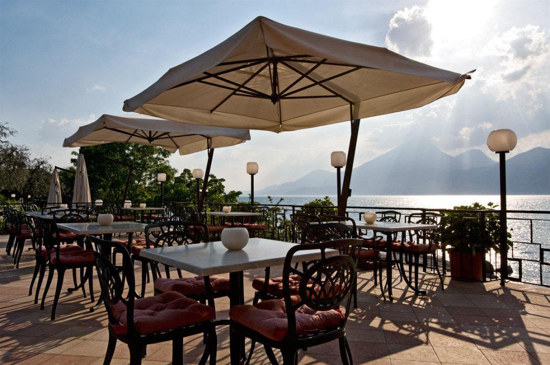 Terrazza sul lago  Hotel La Caletta Bolognese