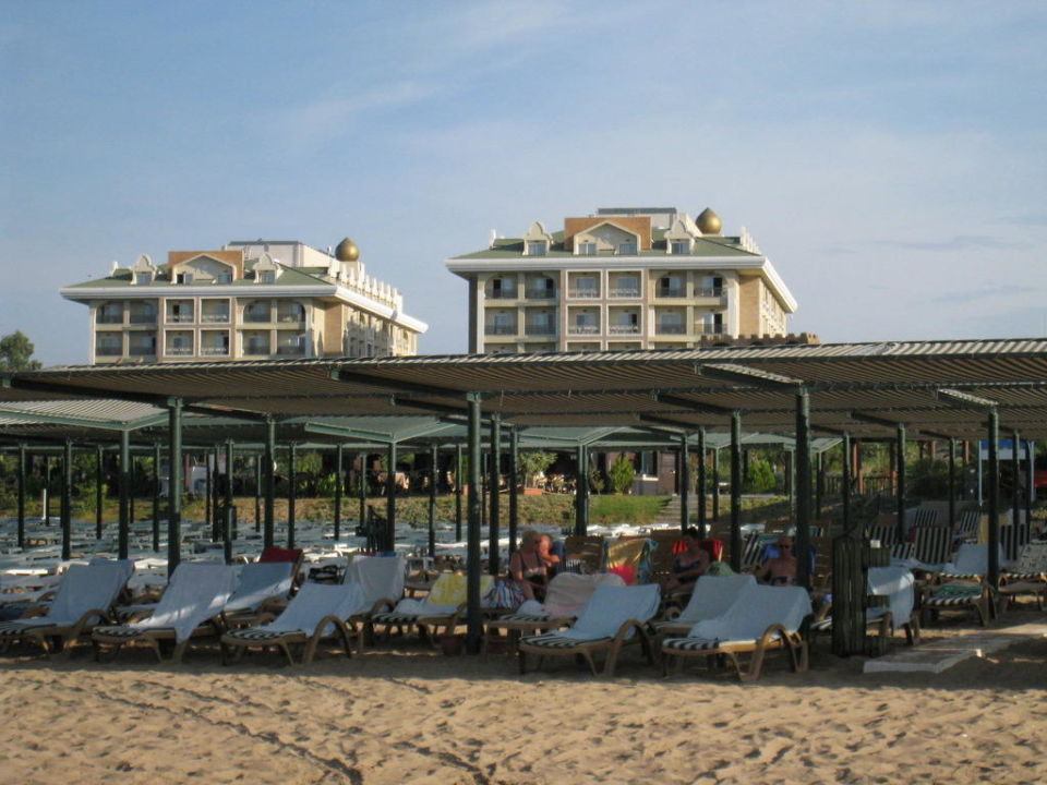 Blick vom Strand Hotel Adalya Resort & Spa