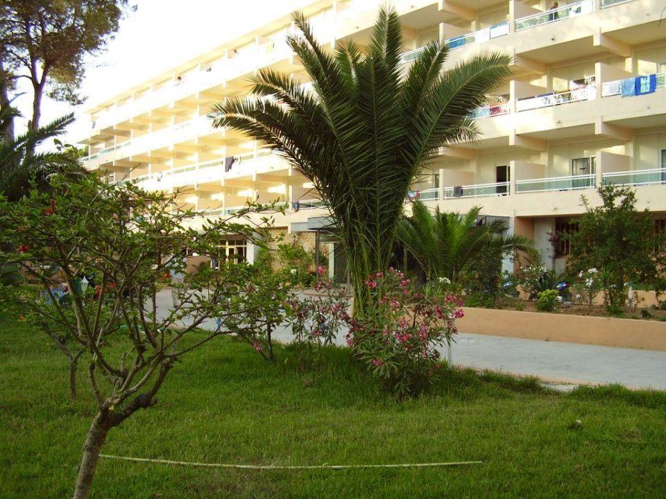 Eingangsbereich Hotel Els Pins  (Vorgänger-Hotel – existiert nicht mehr)