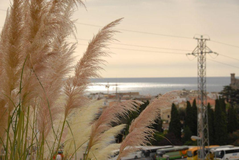 Schöner Ausblick über die Stadt Hotel Marblau Tossa