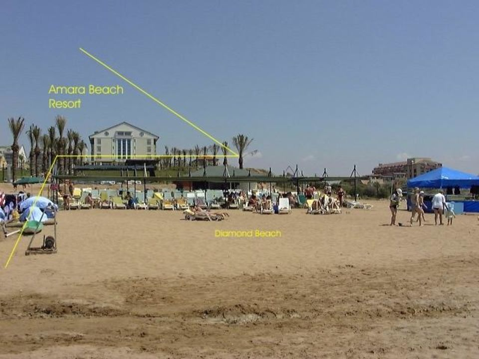 Hotel Diamond Beach / Lage Diamond Beach Hotel & Spa