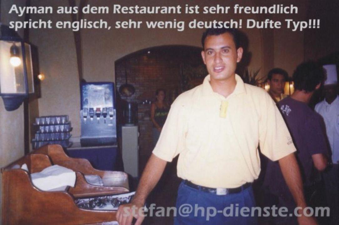 Restaurant-Personal 1-2 Fly Fun Club Makadi Jaz Makadina