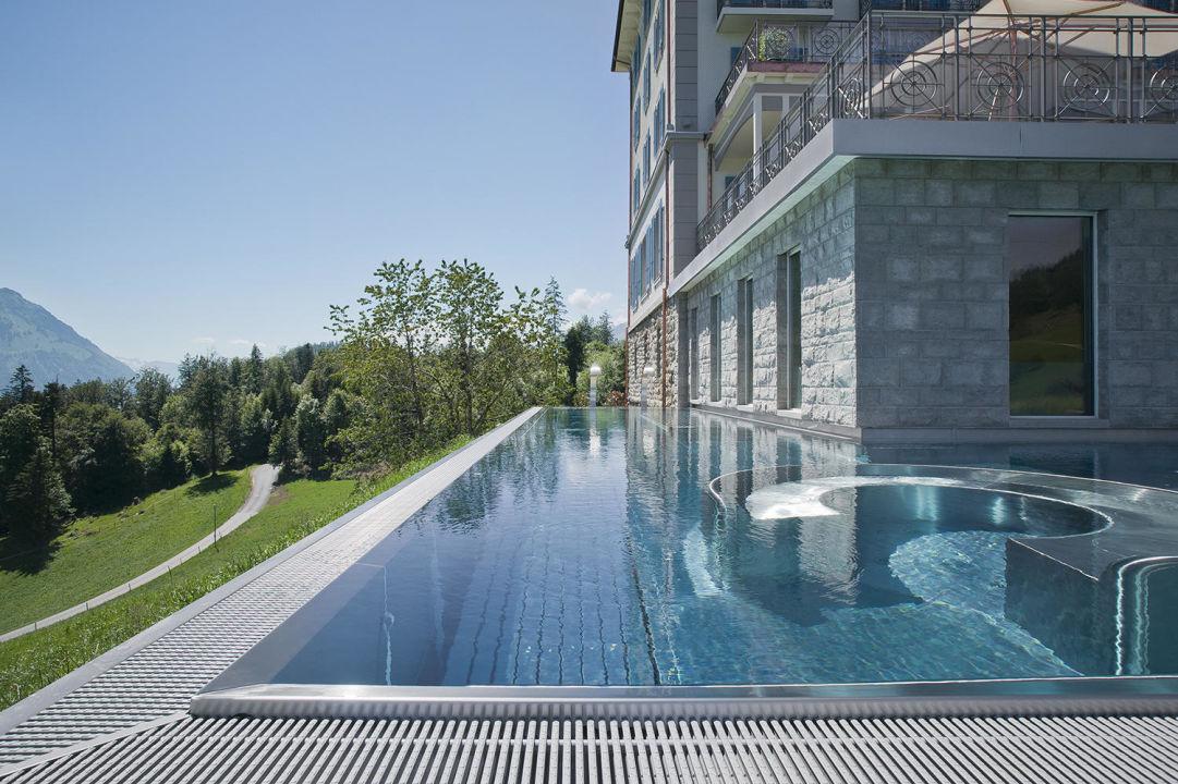 aussenpool hotel villa honegg in ennetb rgen holidaycheck kanton nidwalden schweiz. Black Bedroom Furniture Sets. Home Design Ideas