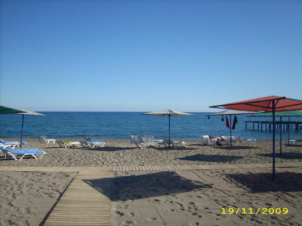 Strand am Morgen Kilikya Palace Göynük